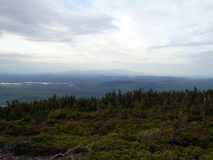Looking north to Katahdin (Photo by Joe Lyon)
