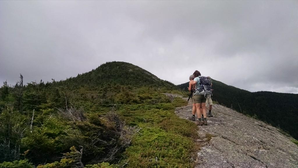 The summit ahead.
