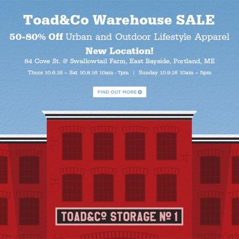toadcofreeport-email-oct2016-portlandwarehousesale